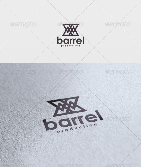 Barrel Logo - Vector Abstract