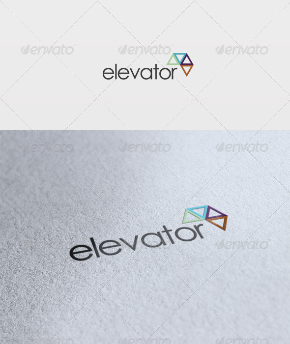 Elevator Logo - Vector Abstract