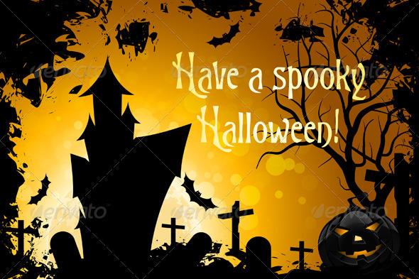 Have a Spooky Halloween - Halloween Seasons/Holidays