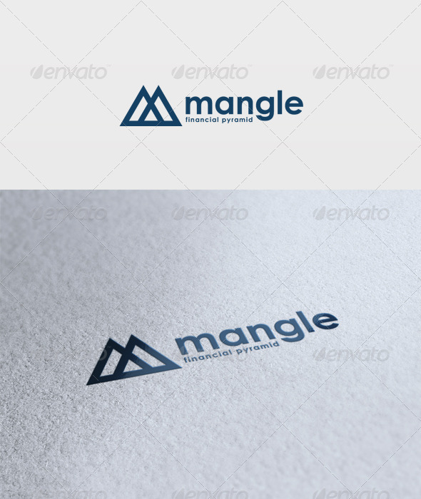Mangle Logo - Letters Logo Templates