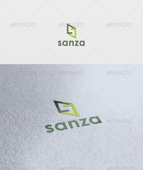 Sanza Logo - Letters Logo Templates