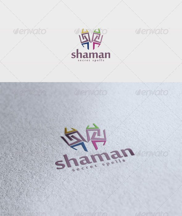 Shaman Logo - Vector Abstract