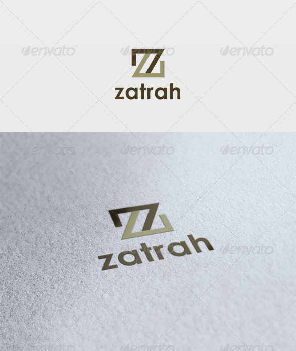 Zatrah Logo - Letters Logo Templates