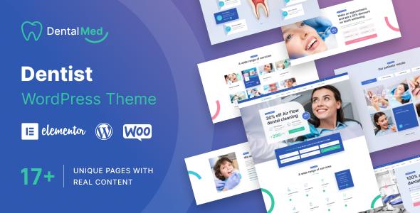 DentalMed - Dentist Clinic WordPress Theme