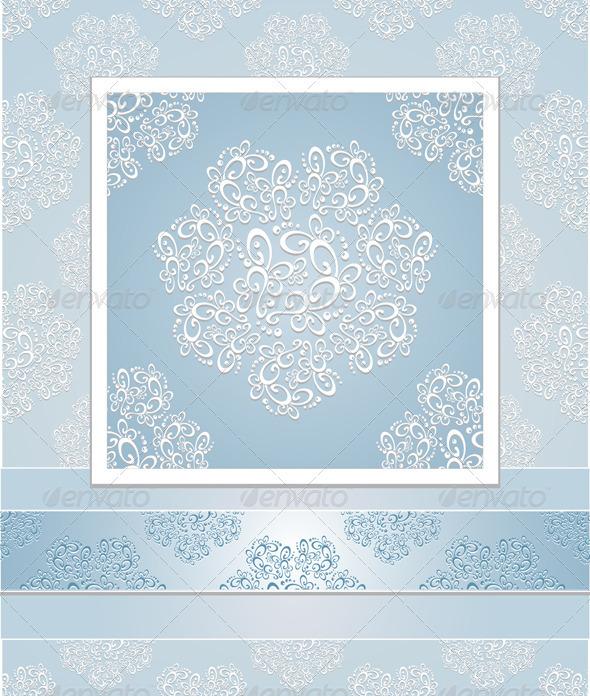 Set seamless patterns lace - Patterns Decorative