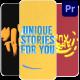 Instagram Text Stories   Premiere Pro MOGRT - VideoHive Item for Sale