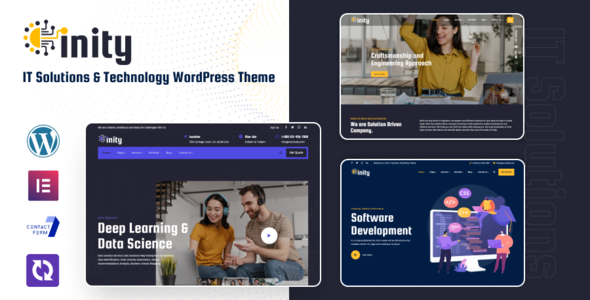 Inity - Technology Solutions WordPress Theme
