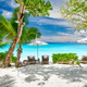 Beautiful Petite Anse beach at Seychelles - PhotoDune Item for Sale