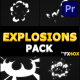 Explosions Pack   Premiere Pro MOGRT - VideoHive Item for Sale