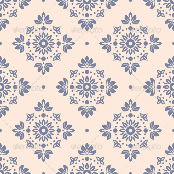 Floral Seamless Wallpaper - Patterns Decorative