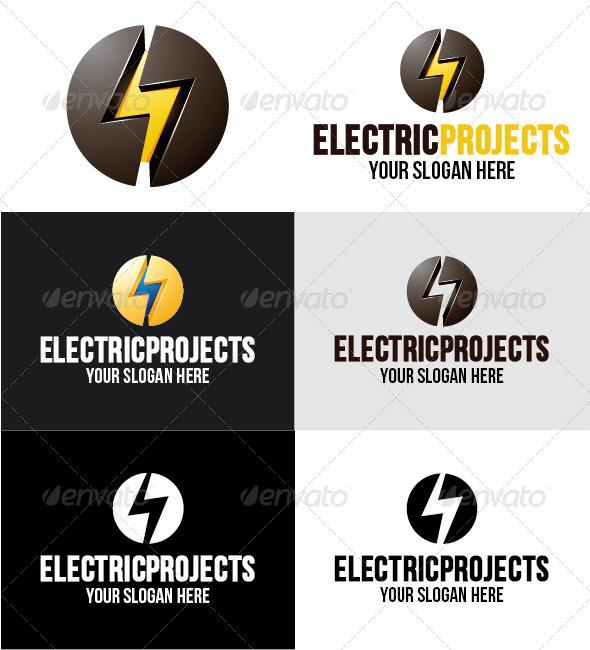Elec Project Logo - Symbols Logo Templates