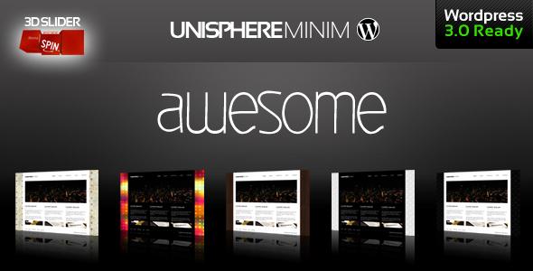 Free Download UniSphere Minim Corporate and Portfolio Nulled Latest Version