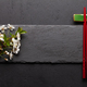 Japanese food with cherry blossom and sushi chopsticks - PhotoDune Item for Sale
