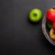 Fresh ripe apples in basket - PhotoDune Item for Sale