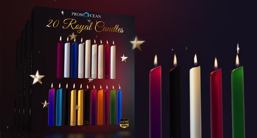 20 Royal Candles