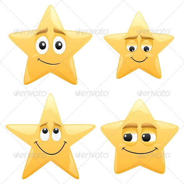 Stars - Characters Vectors