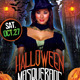 Halloween Masquerade Costume Party Flyer Template - GraphicRiver Item for Sale
