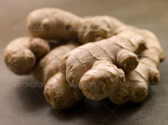 Stem of Ginger - Stock Photo - Images