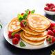 Breakfast pancakes with fresh raspberry - PhotoDune Item for Sale