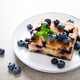 Blueberry and pear pie with fresh berries - PhotoDune Item for Sale