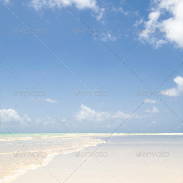 idyllic horizon - Stock Photo - Images
