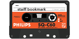 Staiff Bookmark