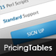 Clean Pricing Table #1 - GraphicRiver Item for Sale