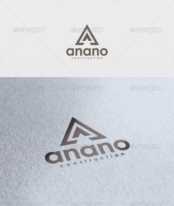 Anano Logo - Letters Logo Templates