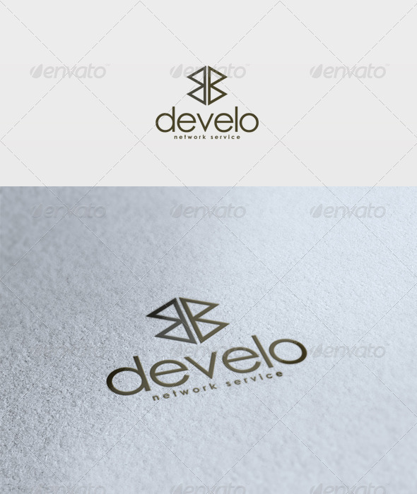 Develo Logo - Vector Abstract