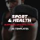 Sport & Health Instagram Promo - VideoHive Item for Sale