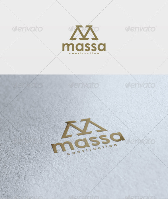 Massa Logo - Letters Logo Templates
