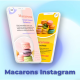Macarons Instagram Stories - VideoHive Item for Sale
