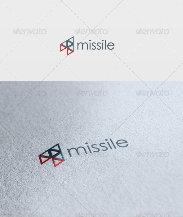Missile Logo - Vector Abstract