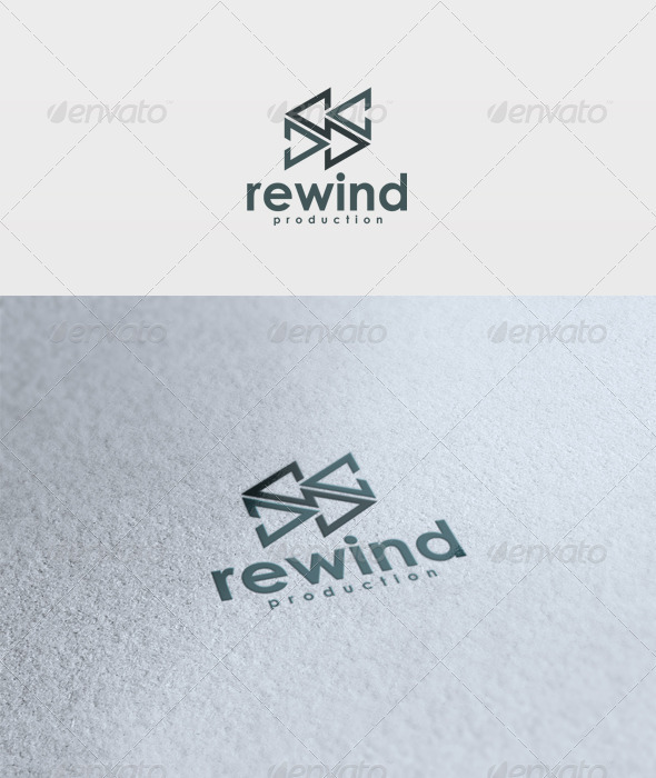 Rewind Logo - Vector Abstract