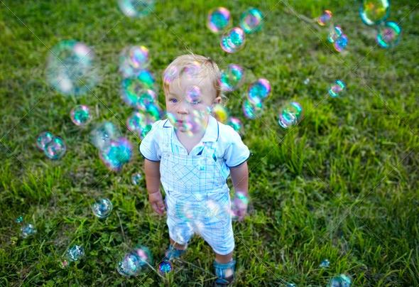 Happy childhood - Stock Photo - Images