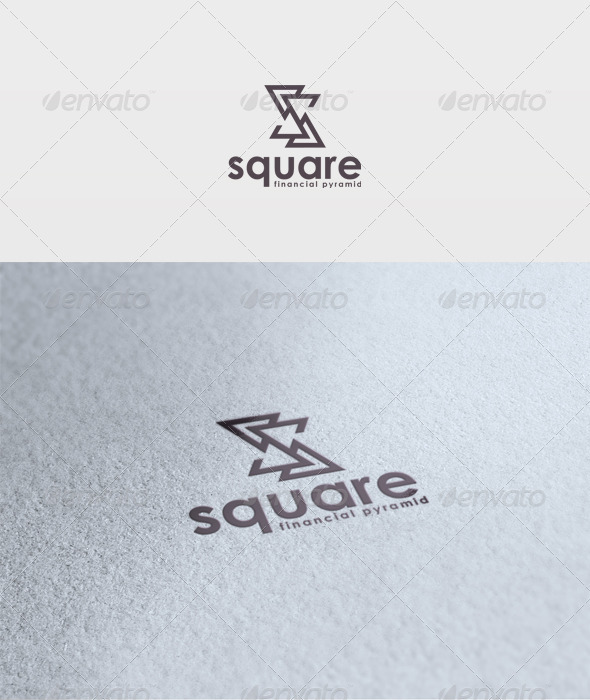 Square Logo - Letters Logo Templates