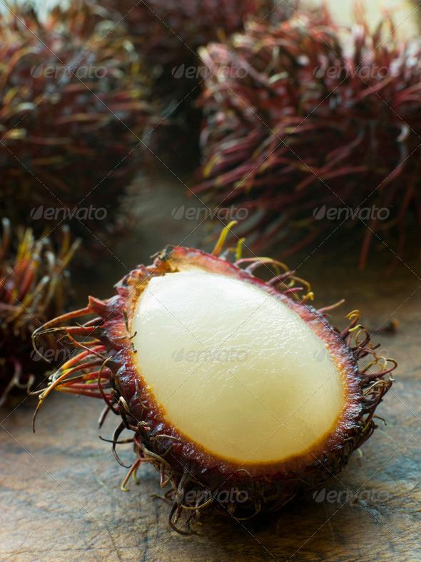 Rambutan Fruit - Stock Photo - Images