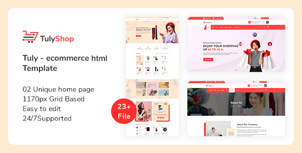 Tuly - eCommerce HTML Template