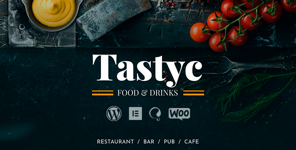 Tastyc - Restaurant WordPress Theme