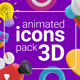 Animated Icons 3D - VideoHive Item for Sale