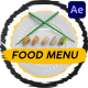 Food Menu Slideshow   After Effects - VideoHive Item for Sale