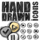 Hand Drawn Multimedia Icons - GraphicRiver Item for Sale