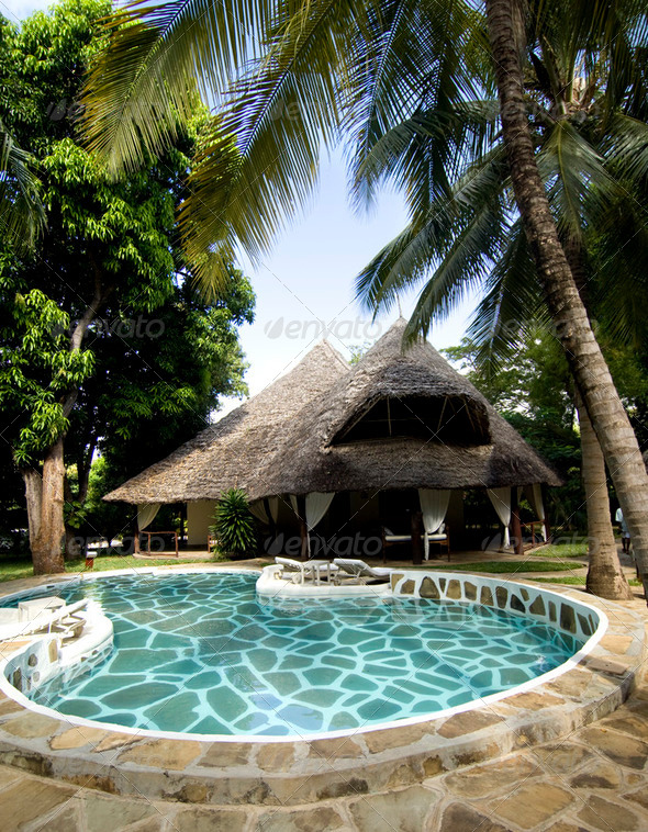 African Hotel - Stock Photo - Images