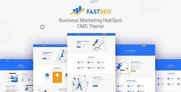 FastSEO - Business Marketing HubSpot Theme