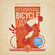 International Bicycle Day Flyer Set