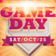 Game Day Event Flyer Template - GraphicRiver Item for Sale