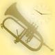 Soft Atmospheric Melody Trumpet Logo