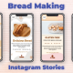 Bread Making Instagram Stories - VideoHive Item for Sale