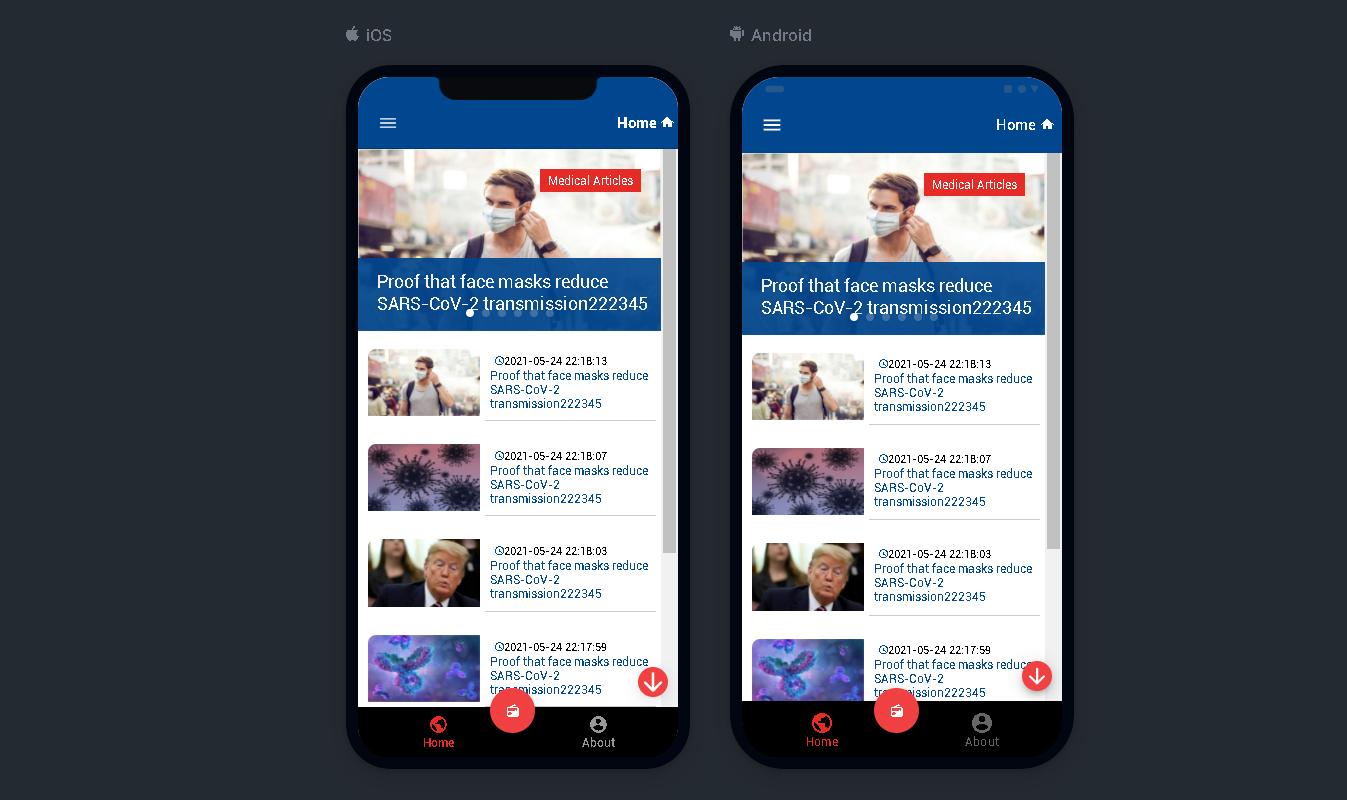 Radio App | Ionic 5 | Angular | News App | Radio + News in one - 1