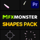 Hand-Drawn Shapes Pack | Premiere Pro MOGRT - VideoHive Item for Sale